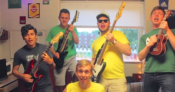 These Frat Guys Flawlessly Lip Dub Taylor Swift's 'Shake It Off'